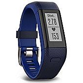 NEW Garmin Vivosmart HR+ GPS Fitness Activity Tracker with Smart Notifications - BLUE