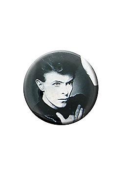 David Bowie Heroes Badge - Multi