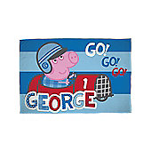 Peppa Pig George Speed Fleece Blanket