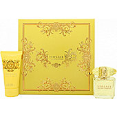 Versace Yellow Diamond Gift Set 30ml EDT + 50ml Body Lotion For Women