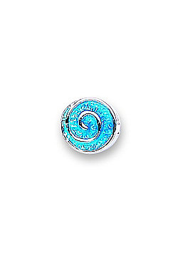 Jo For Girls Blue Swirl Bead