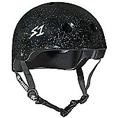 S1 Helmet Company Lifer Helmet - Black Gloss Glitter (Medium)