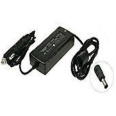 2-Power CAC0634B Auto 90W Black power adapter/inverter