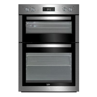 Beko BDF26300X 60cm Stainless Steel Electric Double Oven