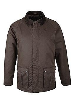Stride Mens Showerproof Jacket - Brown