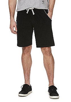 F&F Towelling Shorts - Black