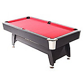 Strikeworth Pro American Deluxe 6ft Pool Table With Red Cloth