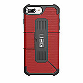UAG Iphone 7/6s PLUS Metropolis Tough Case - Magma/Black