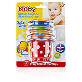 Nuby Splish Splash Bath Stack Cups
