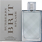 Burberry Brit Splash Eau de Toilette (EDT) 100ml Spray For Men