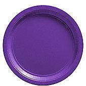 Purple Plates - 23cm Paper Party Plates