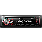 Pioneer DAB Radio InCar Stereo│CD│MP3│USB│Aux│Flac│Direct iPod-iPhone-Android