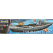 REVELL 05133 German Submarine Type IX C/40 1:72 Ship Model Kit