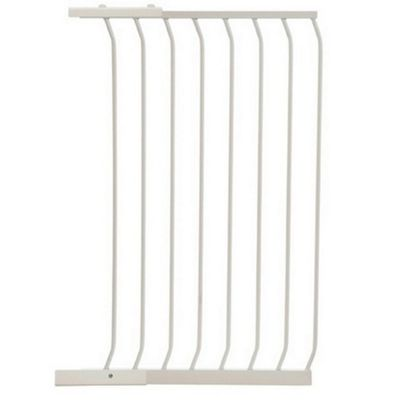 Dreambaby Extra Tall Swing Closed Stair Gate White Extension 63cm