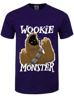 Wookie Monster Purple Men's T-shirt