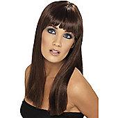 Smiffy's - Glamourama Wig - Brown