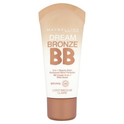 Maybelline Dream Bronze BB 8-in-1 Beauty Balm SPF 25 30ml