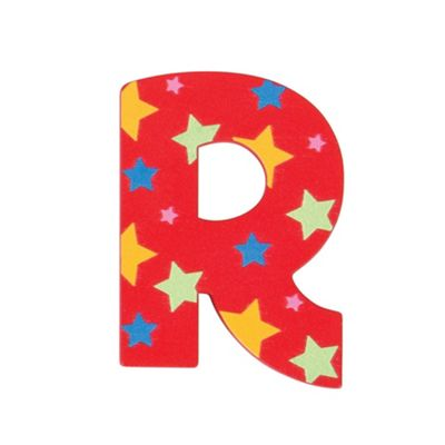 Bigjigs Toys Star Letter R (Red)