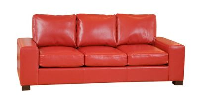 Sofa Collection Montada Sofa - 3 Seat - Red