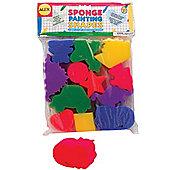 Alex Painting Sponge Shapes