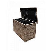 Outdoor Storage Box in Truffle