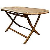 Bentley Garden Wooden Furniture Oval Table