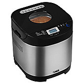Tower Digital Bread Maker, Gluten Free - Silver