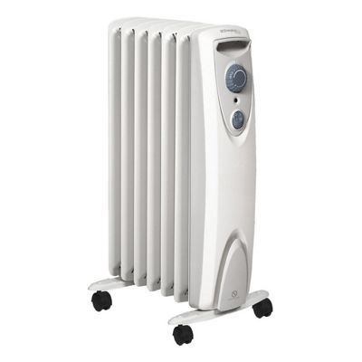 Dimplex OFRC15N 1.5kW White Oil Free Column Heater with Variable Thermostat
