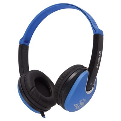 groov-e GV590BB Kids DJ Style Headphone - Blue