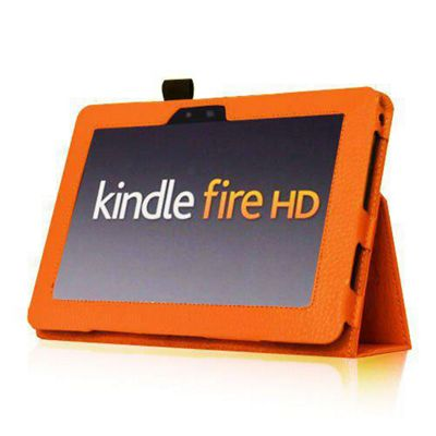 U-bop Neo-Orbit Midi Flip Case Orange - For Amazon Kindle Fire HD