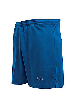 Precision Training Men'S Madrid Shorts Training Short Pants Royal - Blue