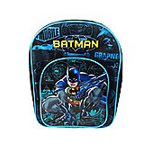Batman 'Power' Arch Pocket School Bag Rucksack Backpack