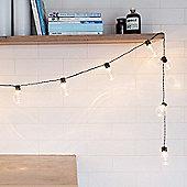 20 Warm White LED Battery Festoon Lights