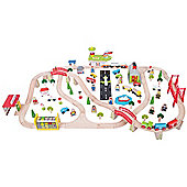 Bigjigs Rail Transportation Train Set