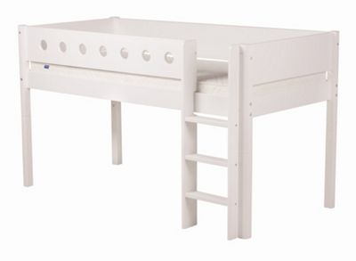 Flexa Flexa White Midsleeper Bed - White - White