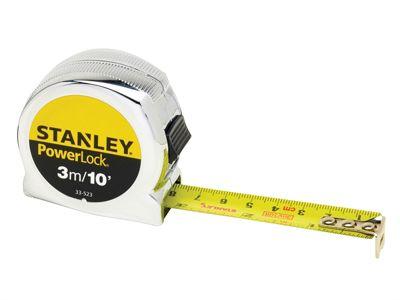Stanley PowerLock Classic Pocket Tape 3m/10ft (Width 19mm)