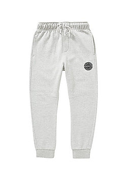 F&F Brooklyn Patch Joggers with As New Technology - Marl grey