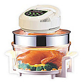 ElectriQ 17 Litre Digital Premium Halogen Oven and Full Accessories pack