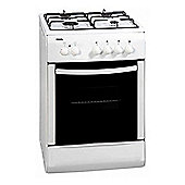 Bexel BG50W Free Standing Single Cavity Gas Oven in White