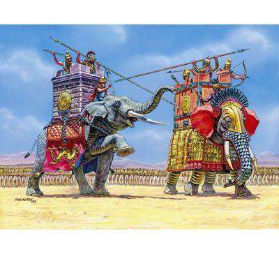 Zvezda - War Elephants I-III B.C. - 1:72 Scale 8011