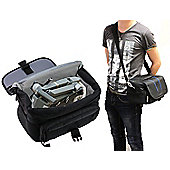 Navitech Black Water Resistant Shoulder Bag / Case / Cover For The DJI Mavic Pro Drone