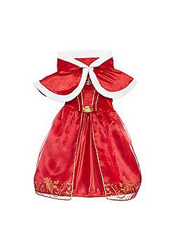 Disney Princess Belle Fancy Dress Costume - Red