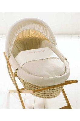 Mamas & Papas - Linen Moses Basket
