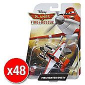 Disneys Planes Fire & Rescue Diecast Firefighter Dusty (Bulk value 48 pack)