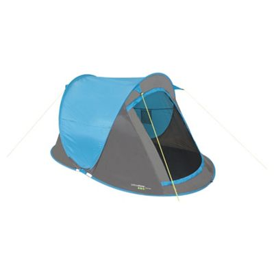 Yellowstone 2 Man Fast Pitch Pop Up Tent Blue. Buy from Tesco  sc 1 st  Tesco & Buy Yellowstone 2 Man Fast Pitch Pop Up Tent Blue from our 2 Man ...