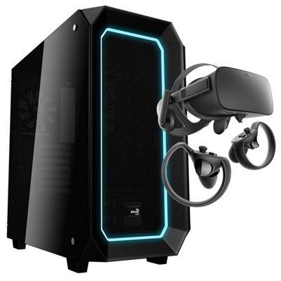 Cube Cobra TUF RGB VR Gaming PC with Oculus Rift i5 Six Core 8GB RAM 2TB SSHD WIFI GeForce GTX 1060 6GB Windows 10
