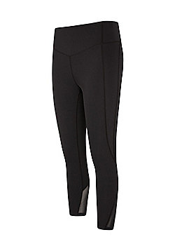 Mountain Warehouse TAKE CONTROL SLIMMING 7/8 LEGGING - Black