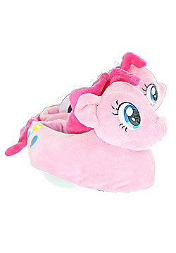 Children's My Little Pony Pinkie Pie 3D Girls Slippers - Pink
