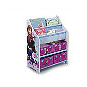 Delta Children Disney Frozen Book Case and Toy Organizer