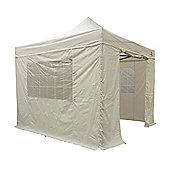 All Seasons Gazebos, Heavy Duty, Fully Waterproof, 3m x 3m Standard Pop up Gazebo Package in Beige